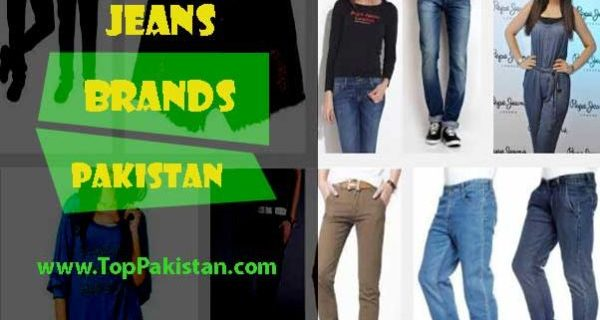 Jeans Brands in Pakistan