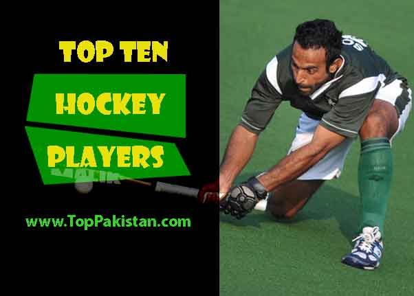 Top Ten Pakistani Hockey Players