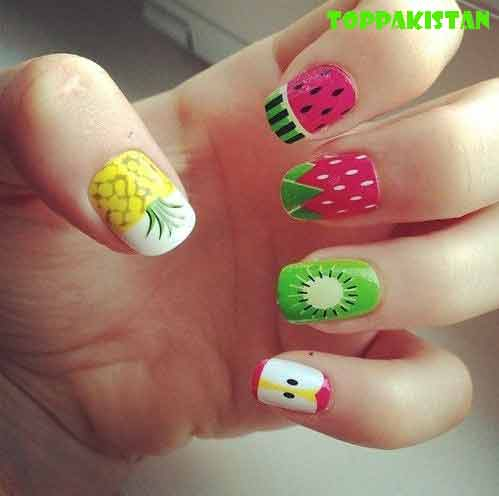 2017-diy-nail-art-designs-for-girls