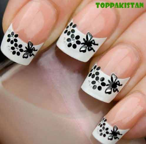 french-manicure-nail-art-for-young-girls