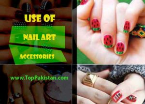 Use of Nail Art Accessories