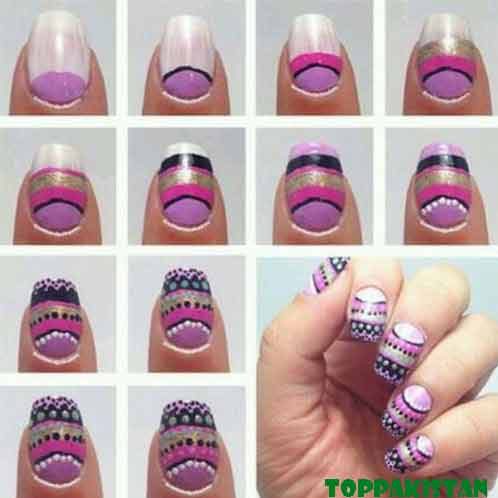 unique-nail-art-for-girls