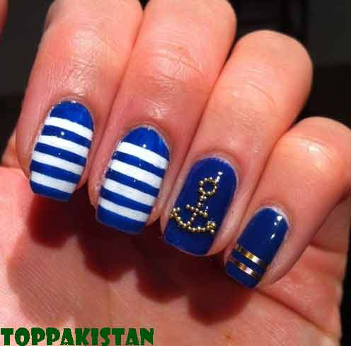 use-of-stripes-nail-art