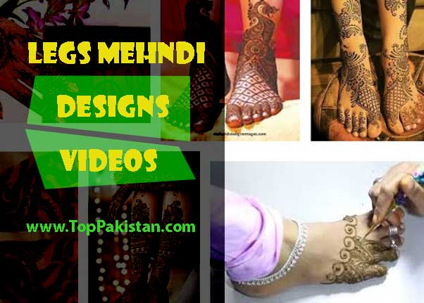 Best Legs Mehndi Designs Videos