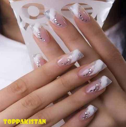 wedding-nail-art-designs-2017-young-gilrs