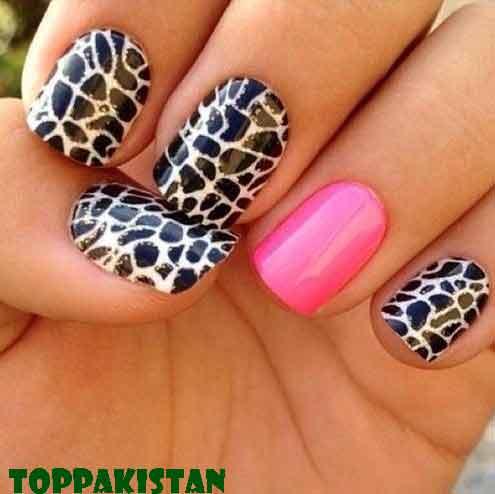 animal-print-nail-art