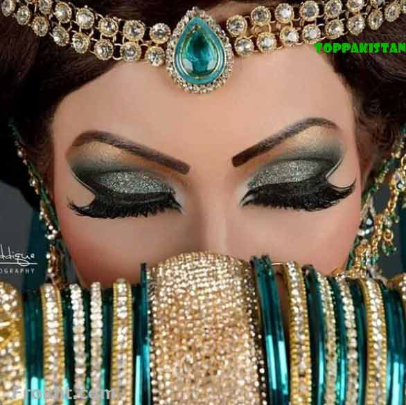 Arabian eye makeup