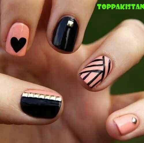 top-pakistan-diy-nail-art-designs
