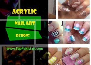 Beautiful Acrylic Nail Art Designs