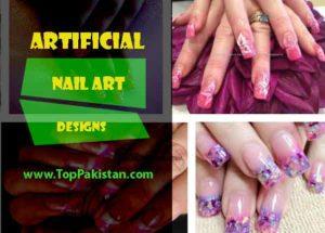 Artificial Nail Art Designs 2017