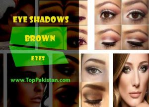 Best Eye Shadows For Brown Eyes