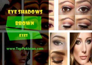 Best Eye Shadows For Brown Eyes
