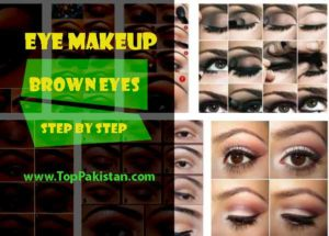 Eye Makeup for Brown Eyes Step By Step