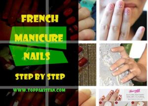 French Manicure Nails Step By Step