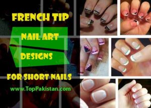 Few of French Tip Nail Designs For Short Nails