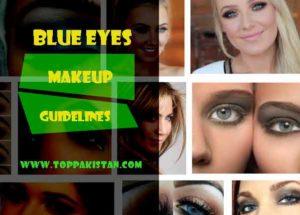Makeup To Make Blue Eyes POP