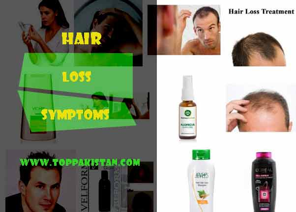 Hair Loss Symptoms, How to Prevent it