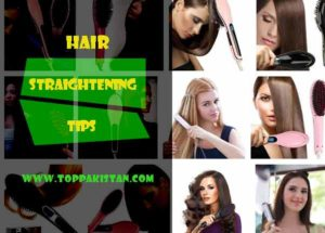 Hair Straightening Tips At Home