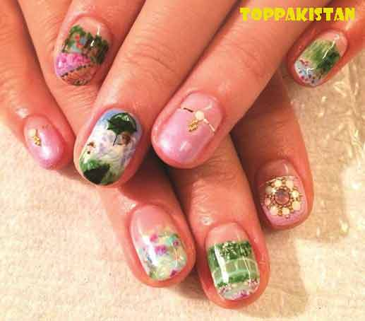 japanese-nail-art-designs-2017-girls