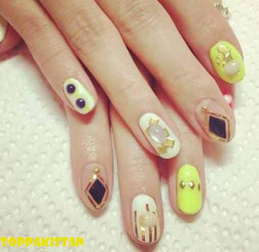 55 Beautiful Japanese Nail Art Designs: Japanese Nail Art Design 2017