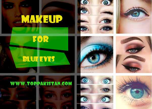 How to Apply Makeup for Blue Eyes 2017