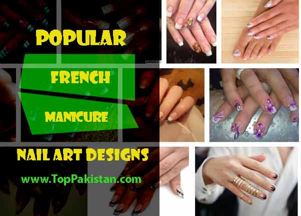 Most Popular French Manicure Nail Art Designs