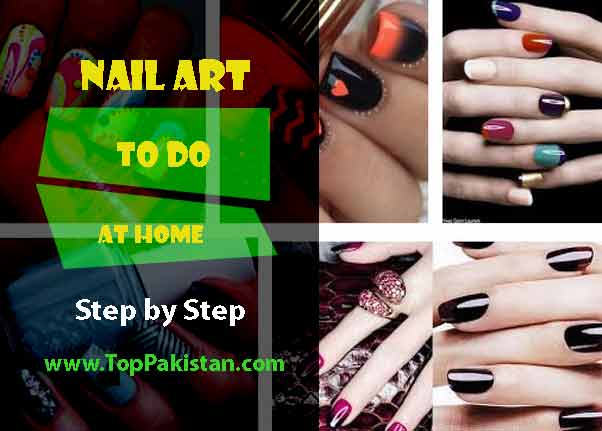How To Do Nail Art At Home Step by Step