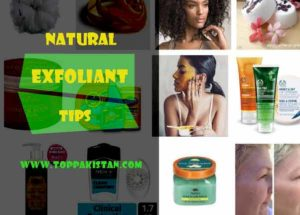 Natural Exfoliant Tips