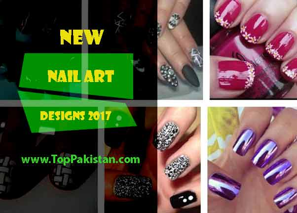 New Year Nail Art Designs For 2017