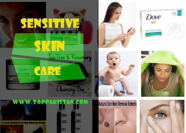 Sensitive Skin Care Tips Home Remedies