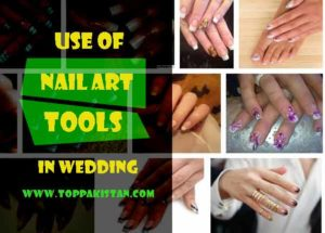 Use of Nail Art Tools in Wedding Nail Art Designs