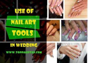 Use of Nail Art Tools in Wedding Nail Art Designs