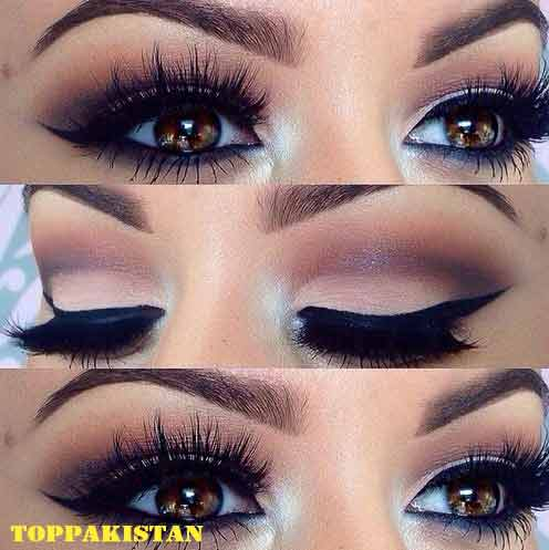 How To Apply Makeup For Blue Eyes Eyeliner For Blue Eyes
