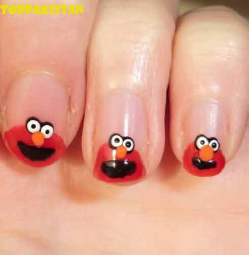 cartoon-nail-art-designs-top-pakistan