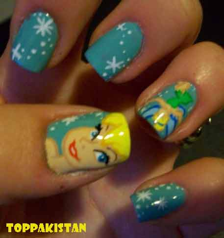 cartoon-nail-art-designs