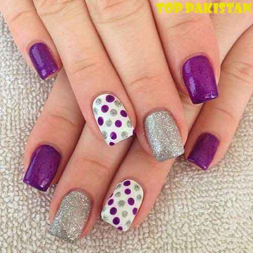 creative-silk-wraps-nail-art