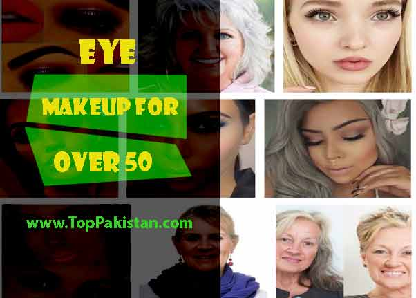 Eye makeup tips for women over 50