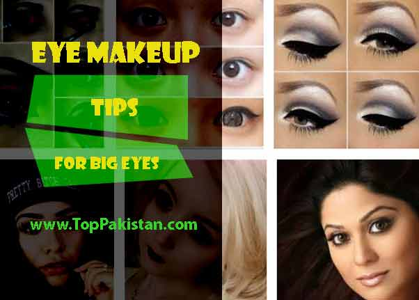 Eye Makeup Tips For Big Eyes