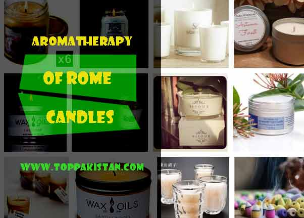 Aromatherapy of Rome Candles