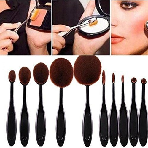 Different Types Of Makeup Brushes : Makeup Brushes And ...