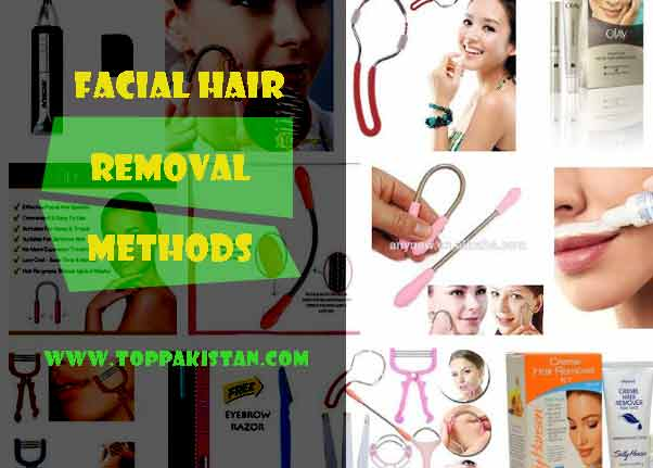 Facial Hair Removal Methods