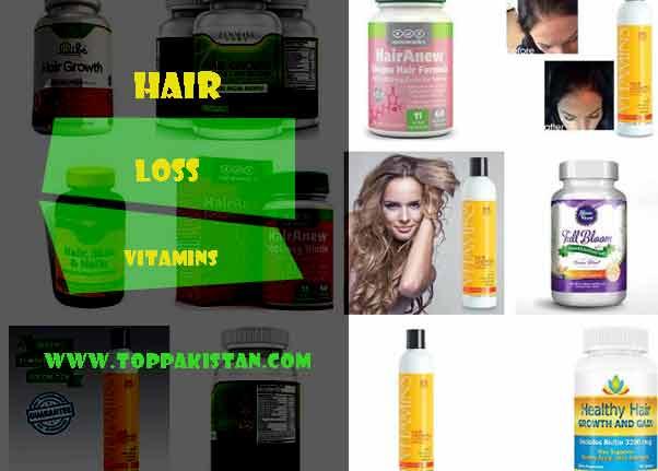 Hair Loss Vitamins