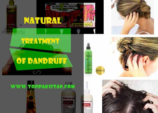 Natural Treatment For Dandruff