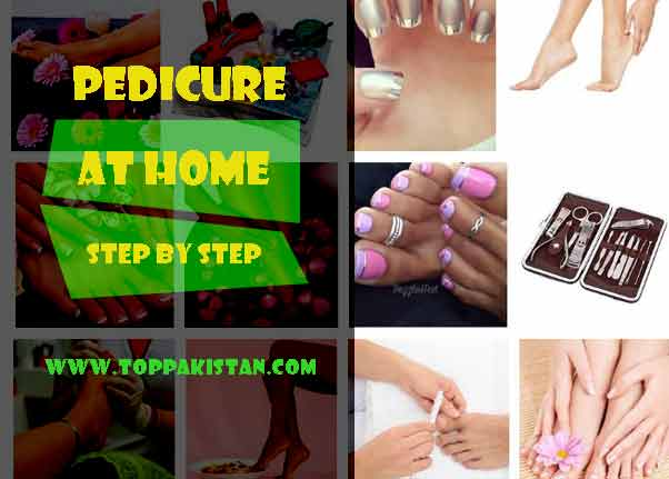 Pedicure At Home Step By Step