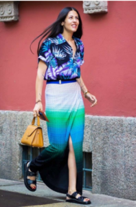 Speech On Fashion How to Wear an Unfilled Maxi Skirt