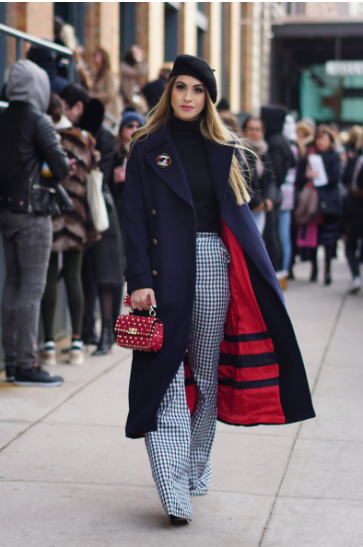 Top Street Style Of NY Fashion Week Fall 2017