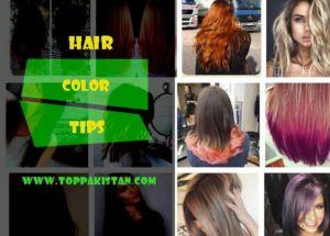 Hair Color Tips