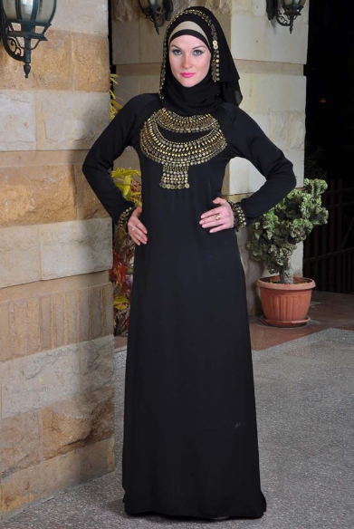 Simple Abaya designs pakistan