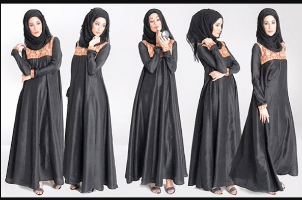 Latest Abaya Designs 2017