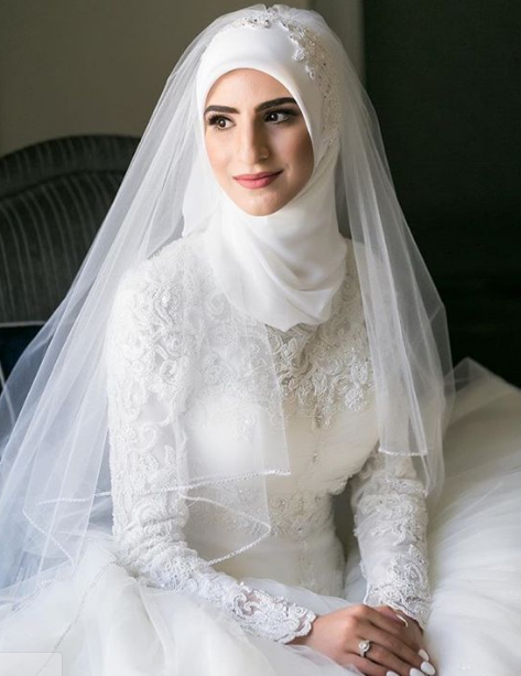 best Hijab for Wedding